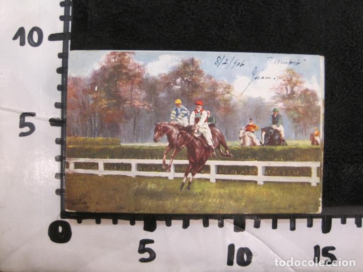 Postales: CABALLOS-COLECCION DE 5 POSTALES ANTIGUAS-VER FOTOS-(77.800) - Foto 13 - 244588900