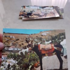 Postales: POSTAL ANTIGUA ESCRITA SACROMONTE BURRO TURÍSTICO GRANADA. Lote 247753580