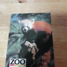 Postales: POSTAL ZOO BARCELONA - PANDA ROJO - ESCUT D'OR. Lote 289017903