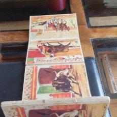 Postales: LIBRO CON 10 POSTALES TOROS DE GIRALT. Lote 289693673