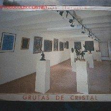 Postales: GRUTAS DE CRISTAL - 9 FOTOS. Lote 23803210