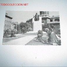 Postales: ZARAGOZA - MONUMENTO A GOYA. Lote 896200