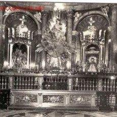 Postales: ZARAGOZA - EL PILAR - LA SANTA CAPILLA (CIRCULADA). Lote 23649733