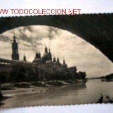 Postales: POSTAL ANTIGUA DE ZARAGOZA. Lote 23476302