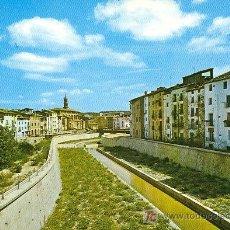 Postales: BARBASTRO. CANALIZACION DEL RIO VERO.. Lote 3276706