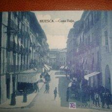 Postales: HUESCA,COSO BAJO. Lote 13741110