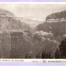 Postales: TARJETA POSTAL DE HUESCA. BROTO (ALTOS PIRINEOS DE ARAGON). ORDESA : EL CIRCO DE COTADUERO.. Lote 4239490