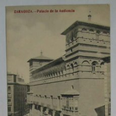 Postales: TARJETA POSTAL ZARAGOZA. PALACIO DE LA AUDIENCIA. Lote 13723626