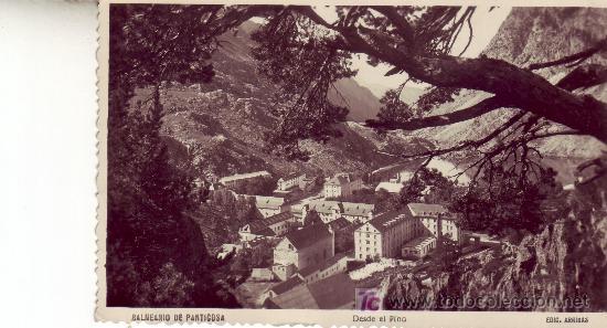 POSTAL FOTOGRAFICA DE ARAGON. BALNEARIO DE PANTICOSA.EDICION ARRIBAS. (Postales - España - Aragón Moderna (desde 1.940))