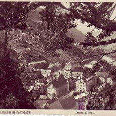 Postales: POSTAL FOTOGRAFICA DE ARAGON. BALNEARIO DE PANTICOSA.EDICION ARRIBAS.. Lote 25008536
