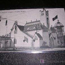 Postales: EXPOSICION DE ZARAGOZA, PABELLON MARIANO. Lote 11245008