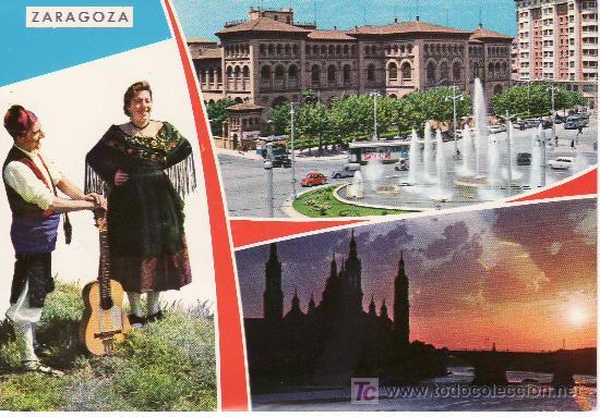 ZARAGOZA. BELLEZAS DE LA CIUDAD.POSTAL SIN CIRCULAR. (Postales - España - Aragón Moderna (desde 1.940))