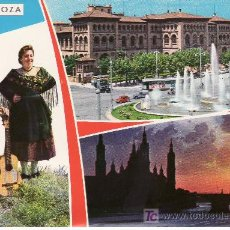 Postales: ZARAGOZA. BELLEZAS DE LA CIUDAD.POSTAL SIN CIRCULAR.. Lote 5502352