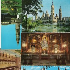Postales: ZARAGOZA BONITO LOTE DE POSTALES . Lote 5593667