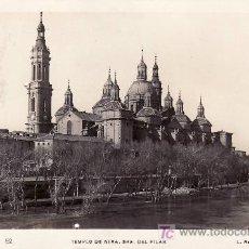 Postales: CIRCULADA EN 1939 A CANARIAS CON CENSURA MILITAR. POSTAL DE ZARAGOZA.. Lote 26876954