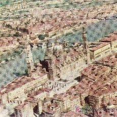 Postales: SERIE IBERIA.POSTAL ZARAGOZA.EL PILAR Y RIO EBRO. NO CIRCULADA. 1960. Lote 23789374