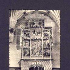 Postales: POSTAL DE BARBASTRO (HUESCA): CATEDRAL, ALTAR DE LA ASCENSION (ED.SICILIA NUM.24). Lote 6194185