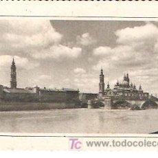 Postkarten - ZARAGOZA. RÍO EBRO Y PUENTE DE PIEDRA. - 6226306