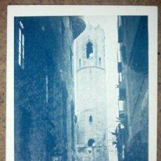 Postales: CAMPANARIO DE LA CAPILLA DE SANTA AGUEDA. Lote 26762747