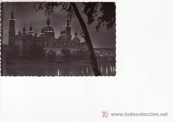 ZARAGOZA.TEMPLO DEL PILAR CIRCULADA. (Postales - España - Aragón Moderna (desde 1.940))
