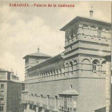 Postales: ZARAGOZA. PALACIO DE LA AUDIENCIA. FOTO MADRIGUERA.. Lote 7128792