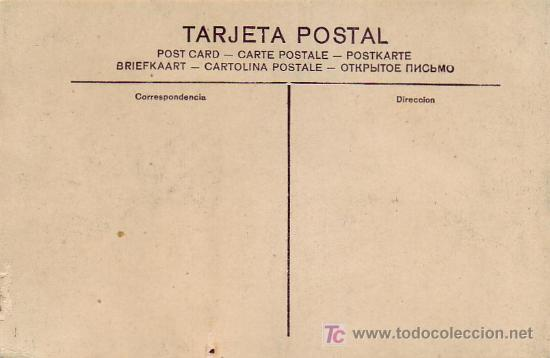 Postales: ZARAGOZA: CALLE DEL COSO Y PLAZA DE LA CONSTITUCION. POSTAL SIN CIRCULAR. MATASELLOS GOYA. RARA ASI. - Foto 2 - 7140460