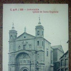 Postales: ZARAGOZA IGLESIA DE SANTA ENGRACIA. Lote 26999851