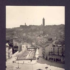 Postales: POSTAL DE TARAZONA (ZARAGOZA): PLAZA DE SAN FRANCISCO (ED.SICILIA NUM.42). Lote 7164201