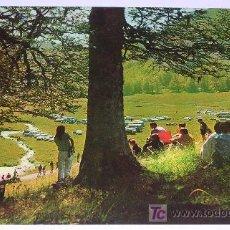 Postales: VALLE DE ZURITA EN ANSO - PIRINEO ARAGONES (HUESCA) AÑO 1967!! NUEVA!!. Lote 7228697