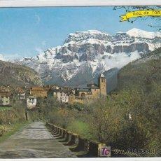 Postales: POSTAL DE HUESCA Nº697, TORLA-ORDESA, AL FONDO MONDARRUEGO. Lote 7497090