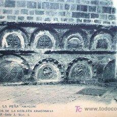 Postkarten - San Juan de la Peña: Huesca. Sepulcros de la Nobleza Aragonesa. F. Álvarez P. Serie A nº 5. Años 20 - 7610180
