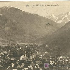 Postales: BENASQUE-LUCHON. VISTA GENERAL.. Lote 7652531