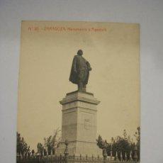 Postkarten - Postal Zaragoza Monumento á Pignatelli - 7726284