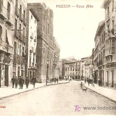 Postales: HUESCA COSO ALTO. Lote 19489704