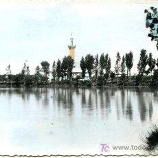 Postales: BELCHITE - ESTANQUE- ANTIGUA - CIRCULADA 1963. Lote 26630265