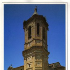 Postales: POSTAL RODA DE ISABENA HUESCA CATEDRAL ROMANICA. Lote 7930835