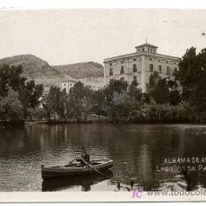 Cartes Postales: ALHAMA DE ARAGON , ZARAGOZA , BALNEARIO ,LAGO VISTA PARCIAL , P22484. Lote 16026415