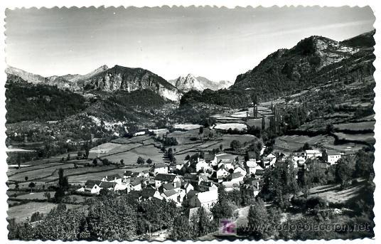 CASTEJON DE SOS VISTA DEL VALLE ,HUESCA , P22588 (Postales - España - Aragón Antigua (hasta 1939))