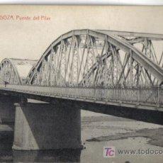 Postales: ZARAGOZA, PUENTE DEL PILAR. Lote 27144830