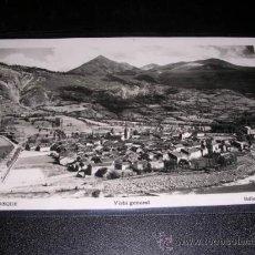 Postales: BENASQUE , VISTA GENERAL, EDC, SICILIA. Lote 111316780