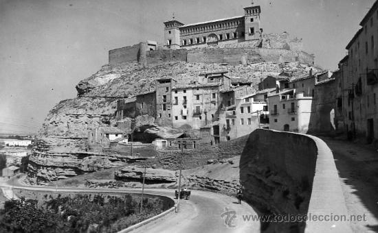 ALCAÑIZ CASTILLO DE LOS CALATRAVOS (Postales - España - Aragón Moderna (desde 1.940))