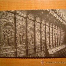 Postales - TARJETA POSTAL ZARAGOZA BASILICA DEL PILAR CORO DETALLE DE LA SILLERIA CIRCULADA - 8688311