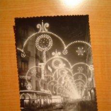 Postales: POSTAL ZARAGOZA ALFONSO I NOCTURNO ESCRITA. Lote 8688438