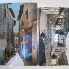 Postales: LOTE 2 POSTALES ANTIGUAS HUESCA: EL GRADO, SIRESA. Lote 8834524