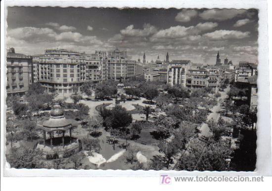 1 .- ZARAGOZA PLAZA DE JOSÉ ANTONIO (Postales - España - Aragón Moderna (desde 1.940))