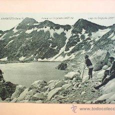 Postales: PIRINEU ARAGONES-LAGO DE GREGUEÑA-SIN CIRCULAR--HUESCA . Lote 9112192