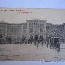 Postales: ZARAGOZA - LA UNIVERSIDAD. Lote 9170984