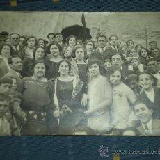 Postales: TARJETA POSTAL FOTOGRAFICA DE ANIÑON - TIPOS DEL PUEBLO - FOTO M. DE A. RODERO - ZARAGOZA 1925. Lote 9191347