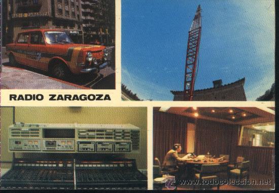 POSTAL RADIO ZARAGOZA DIRIGIDA A RADIO REUS / 1980 / EMISORA MOVIL COCHE SIMCA 1000 (Postales - España - Aragón Moderna (desde 1.940))