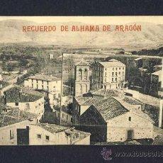 Postales: POSTAL DE ALHAMA DE ARAGON (ZARAGOZA): RECUERDO. DESPLEGABLE CON 12 VISTAS (VER FOTO ADICIONAL). Lote 9701340